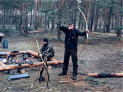 Survivaltraining Bushcraft Teamevent