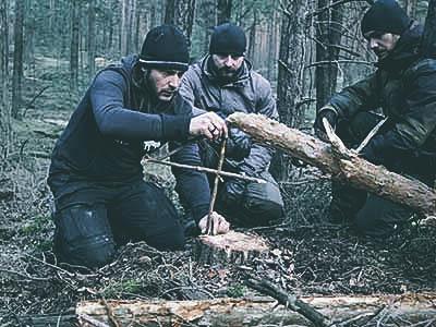 Outdoor Teamevent Survival Bushcrafting