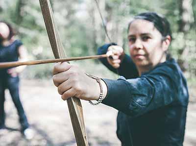Teamevents Bogenschießen Frauen
