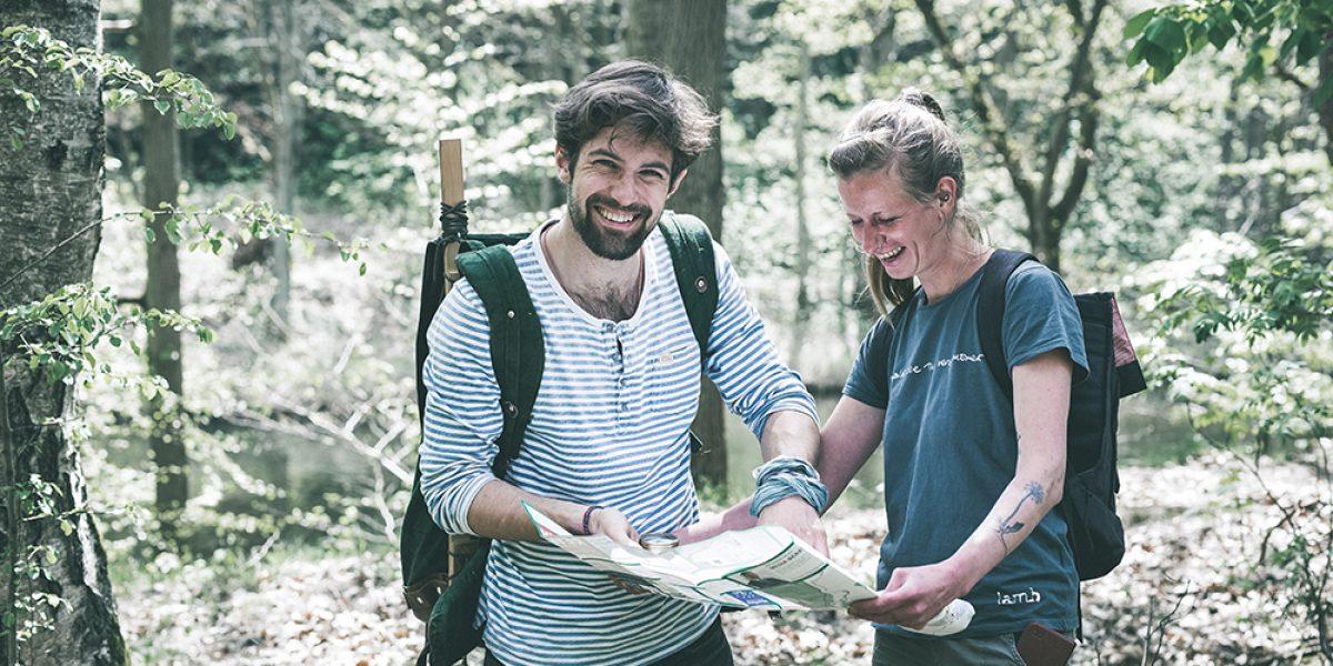 Orientierung Wildventures Karte Kompass Teamevent